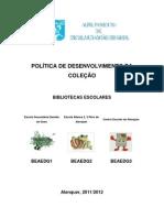 Política de Desenvolvimento da Coleção (documento conjunto, jun 2012)