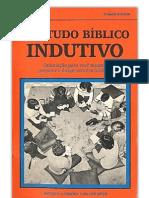 O Estudo Bíblico Indutivo - Antonia Leonora Van Der Meer