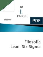 ID 5's, Lean-6 sigma