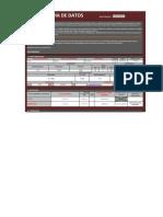 Ficha de Datos - Fiscalizador Distrital