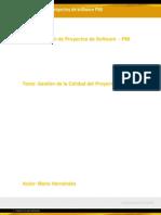 Gestión de la Calidad del Proyecto (1)