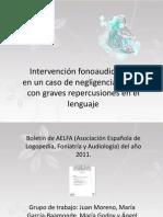 Intervencion Fa en Caso de Negligencia Infantil Con Repercusiones Graves en El Lenguaje