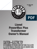 Lionel Train Manual