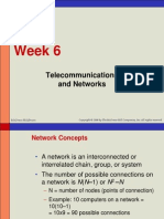 Week 6 - Telecommunication Network