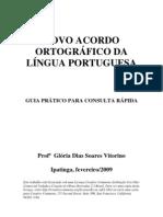 Novo Acordo Ortografico Da Lingua Portuguesa Guia Pratico Para Consulta Rapida