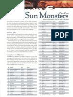 Dark Sun Monster Manual by Azamor