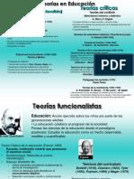 Teor+¡as en Educaci+¦n (Filminas M+®todo)