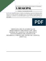 Ord Plan Especial Ordenamiento Urbanistico