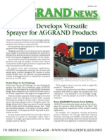 AGGRAND Newsletter Spring 2012