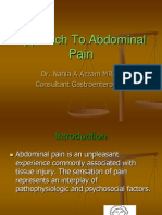 Approach to Abdominal Pain (2)