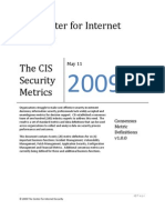 CIS Security Metrics v1.0.0
