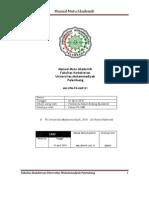 Manual Mutu Akademik f. Kedokteran Revisi