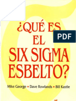 Que Es El Six Sigma Esbelto (Version Ligera)