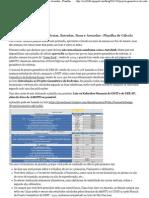 Projeto Geométrico de Rodovias, Estradas, Ruas e Avenidas - Planilha de Cálculo - Civil 3D Br