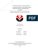 Laporan HPLC kelompok 1