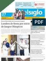 Edicion El Siglo 27-07-2012