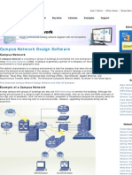 Campus Network Design Software - Examples to Demo How to Design the Campus Network