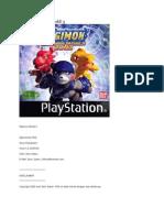 Cheat Digimon World 3