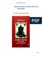 Monah Pimen Vlad - Mustrari si mangaieri pentru romanii plecati in strainatate