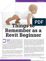 Beginners Tips for Revit