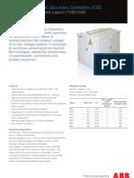 ABB UniPack Datasheet MARS 1250kVA WEB