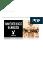 PLAYBOY | 7 Millions Fans | Facebook