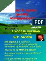 5 S AND SIX SIGMA