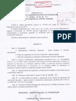 Ordin I.663 Privind Reorganizare Arhive Nationale