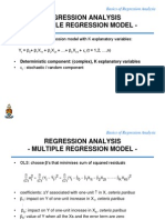 REGRESSION ANALYSIS - lecture