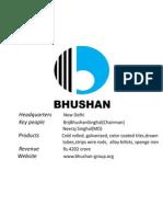 Bhushan Limited