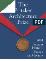 Pritzker Citation 2001