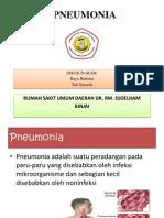 Pneumonia Radiologi