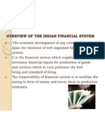 Overview of the Indian Financial System(1)