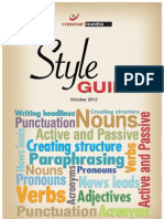 A4 Style Book