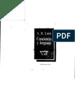 Conciencia y Lenguaje Alexander Luria