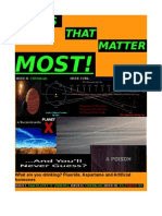 issues that matter most - second edition - 'CHEMTRAILS '