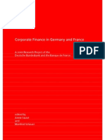 Corporate Finance in France and Germany