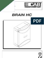 Brain Hc Centrale de commande - Manuel de programmation