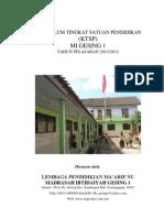 Ktsp Mi Gesing 1 Temanggung 2011-2012