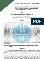 Penggunaan Bakteri Nitrifikasi Untuk Bioremediasi Dan Pengaruhnya Terhadap Konsentrasi Amonia Dan Nitrit Di Tambak Udang