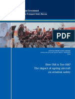 Aging of Aircraft Structures