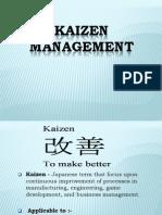 Kaizen+Management Final+Ppt