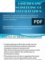 Kinetics and Engineering of Sterilization