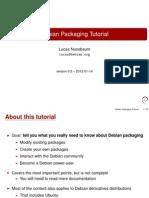 Debian Packaging Tutorial.en
