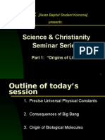 Science and Christianity 1