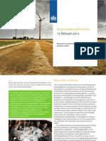 Verslag Bestuurlijke Conferentie 15-02-2012; Deltaprogramma IJsselmeergebied