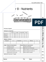 Year 8 Unit 2 Nutrients Booklet