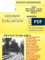 Highway Evaluation Report
