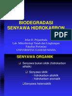 Biodegradasi Senyawa Hidrokarbon