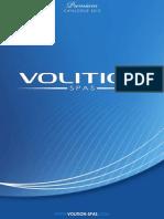 VOLITION SPAS - Catalog Premium